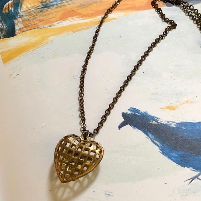 bijou-collier-brass heart-laiton-1